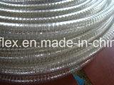 最もよい品質PVCプラスチック鋼線の補強されたホース