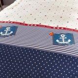 La cubierta barata estupenda 100% del Duvet del algodón de calidad superior fija lecho