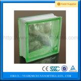 Fornitore caldo del blocchetto di vetro di colore verde di vendita 2016