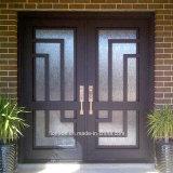 Дверь утюга с дверью парадного входа Kickplate используемой виллой