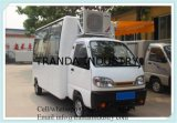 Hamburger Fruit Carts Snackice Cream Trucks with Air Conditioning Made in China