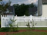 Piquet de clôture en vinyle de jardin