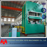 Type de bâti en caoutchouc automatique presse corrigeante de vulcanisation hydraulique de plaque avec l'OIN