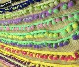 Больше края Tassel анизотремуса цвета отборного для Одевать повелительницы