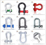 Us Type G2150 Type de boulon Gaine de chaîne / D Shackle