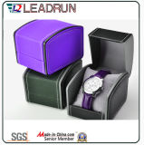 Коробка упаковки индикации подарка упаковки вахты случая хранения вахты кожаный бумаги бархата коробки деревянного вахты упаковывая (YS195)
