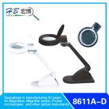 Lampe de grossissement de LED de bureau Couleur noire ou blanche
