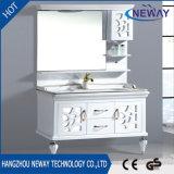 Novo design de gabinete do espelho de Chão armário de casa de banho de PVC