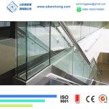 Flaches verbogenes abgehärtetes Sicherheits-ausgeglichenes Glas für Balustrade-und Dusche-Tür