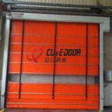 High-density дверь PVC промышленная высокоскоростная штабелируя