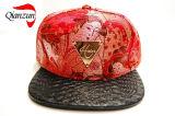 2016の新式のヒョウの穀物の縁の急な回復の帽子