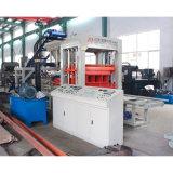 Máquina de fatura de tijolo concreta automática cheia do cimento