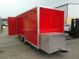 La nourriture mobile transporte en charrette le chariot mobile de Crepe