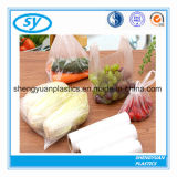 Подгонянные пластичные мешки еды на крене