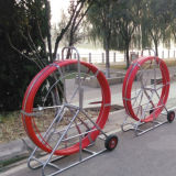 Дешевые оптоволоконный канал Rodder/ кабель защитить трубопровод отслеживания тяги