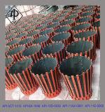 Cestino di cementazione diplomato api (cestino del petalo del cestino del cemento)