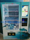 Máquina de venda automática de tela de toque para refrigerar bebidas e lanches 10c (22SP)