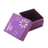 زاهية رخيصة مجوّفة تصميم ورقة مجوهرات يعبّئ صندوق