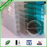 El panel de techo decorativo de la PC del policarbonato hueco transparente ligero