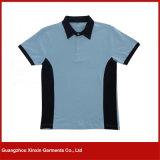 Migliori camice 100% di T personalizzate di polo del poliestere di qualità (P161)