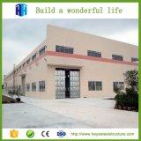 Atelier préfabriqué assemblé rapide de construction de construction de structure métallique