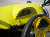 Two giallo Seats Tricycle Motorcycle ATV (KD 250MD2)