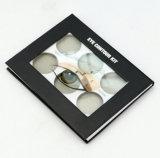 Kundenspezifischer Spezialpapier-Deckel-kosmetischer Kasten mit transparentem Fenster für Lippenstift-und Maniküre-Anwendung