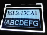 LCD表示のための緑LEDのバックライト