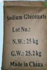 Produto comestível do gluconato do sódio