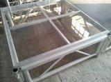 Étape portative utilisée par aluminium bon marché de qualité de Hight de fabrication à vendre