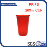 De plástico desechable profesional fabricante de taza de agua potable