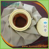 Bolso de hielo de la tela de Resuable del color sólido para la terapia fría caliente