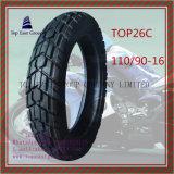110/90-16 schlauchloser, langer Nylonmotorrad-Reifen des Leben-6pr