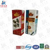 Karton van de Baksteen van China het Aseptische voor Melk en Sap