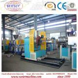 Weiche PVC-Plastikstahldraht-verstärkte Rohr-Schlauch-Strangpresßling-Maschine