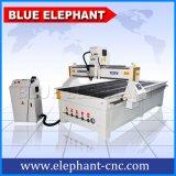 Router CNC 1325 Máquina de corte de madera para la puerta del armario del Elefante Azul