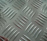1060のH14大きい5つの棒チェック模様のアルミニウムシート
