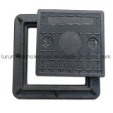 En124 SMC Composite Electrical Manhole Covers / Sanitary FRP Manhole Cover and Frame