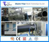 Tubo plástico de las aguas residuales del enrollamiento del diámetro grande del HDPE que hace la máquina
