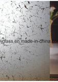 Шелк стекло, мозаика из стекла, кухня желобок стекла передней двери и стекла