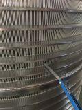Cesta de pantalla de acero inoxidable para la industria de la pulpa