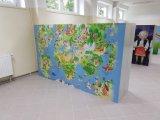 Kast van de Opslag van het Metaal van de Thema's van de school de Populaire Grafische met Digitale Kast