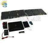 携帯電話のカー・バッテリーのラップトップ(HTF-F60W)のためのPVの太陽エネルギーのパネルの太陽充電器を折る60W