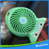 Ventilateur portatif de main du meilleur de cadeau mini ventilateur électrique rechargeable en gros USB de main