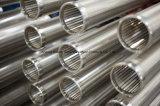 Tubulação Fio-Envolvida da tela do aço inoxidável
