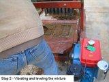 ディーゼル機関を搭載する機械を作る移動可能な卵置くブロック
