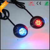 Rojo azul LED Hide A Way Car Strobe Luces de advertencia