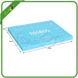 Kundenspezifisches Vierecks-kleine verpackende Papierpappgeschenk-Kästen mit Schaumgummi-Einlage