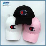 Gorra de béisbol de encargo del sombrero del Snapback de Jean del bordado del casquillo de golf