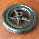 6X2 6X1 6X1.5 Rollstuhl-ermüdet fester Gummipolyurethan-Schaumgummi Reifen u. Rad